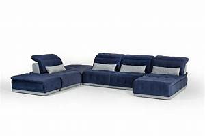 David Ferrari Daiquiri Italian Modern Blue & Grey Modular ...