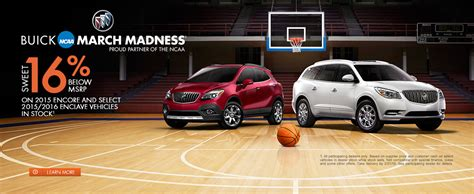 Buick Event by Columbus Buick March Madness Sale 2016 16 Back