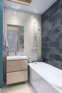 Deco Salle De Bain Carrelage : idee deco carrelage pour salle de bain ~ Melissatoandfro.com Idées de Décoration