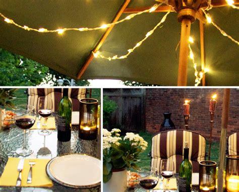 backyard bbq party ideas lighting and decor