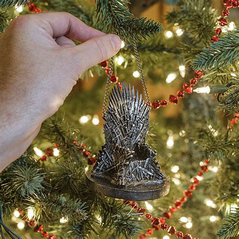 throne themed tree ornaments of thrones decor