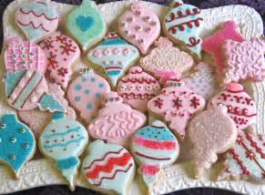 Christmas Ornaments Cutout Cookies