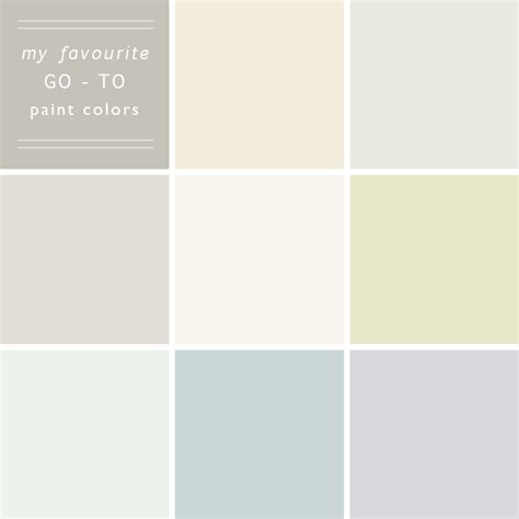 my 10 go to paint colors emily henderson