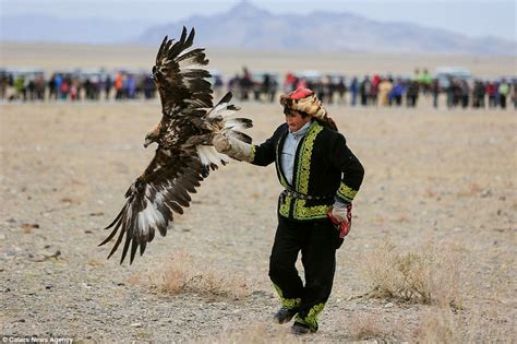 Mongolian tribe are the only people in the world using ...