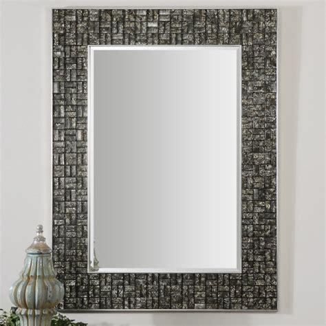 ideas  mosaic tile framed bathroom mirrors