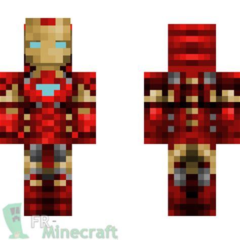 minecraft skin minecraft iron man