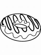 Donut Coloring Pages Printable Mycoloring sketch template