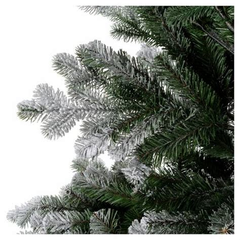 artificial christmas tree 180 cm flocked sheffield with