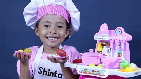 mainan anak perempuan masak masakan   kitchen play set