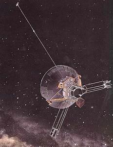 Pioneer 10 Jupiter, Saturn, and interstellar spacecraft ...