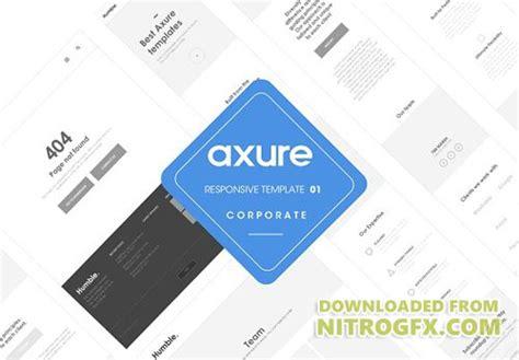 axure templates axure responsive corporate template cm 1366590 187 nitrogfx unique graphics for