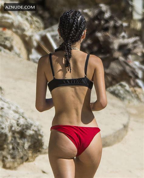 Kim Turnbull Sexy Spotted Enjoying A Beach Day With Friend In Barbados Aznude
