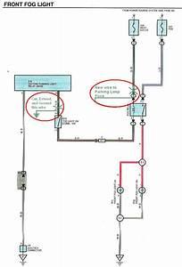 Factory Fog Lamp Re-wire Mod - 3rd Gen 4runner