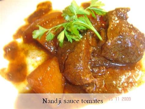 cuisine sauce ivoirienne nandji sauce tomates recette ivoirienne images frompo