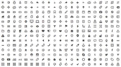 kleine symbole symbole in kostenlosen schriftarten als webfont free icons