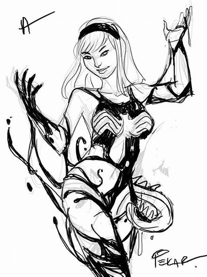 Gwen Sketch Carnage 47th Joe Pekar Fixed