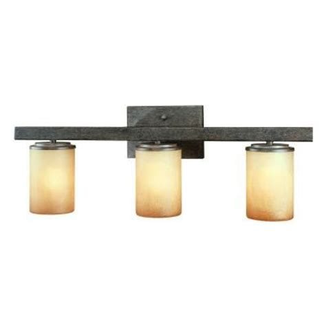 Bathroom Light Fixtures At Home Depot by Bathroom Light Fixture Hton Bay Alta Loma 3 Light