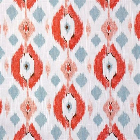 Coral Upholstery Fabric by Coral Ikat Upholstery Fabric For Furniture By