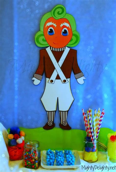 oompa loompa party decoration stands  inches