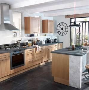 Bleu De Travail Castorama : cuisine kadral en bois naturel castorama photo 8 20 la ~ Dailycaller-alerts.com Idées de Décoration