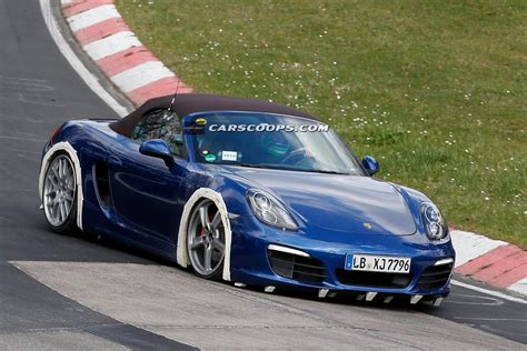 Porsche 4 Cylinder by Porsche Scooped Testing 4 Cylinder Boxster Or Something