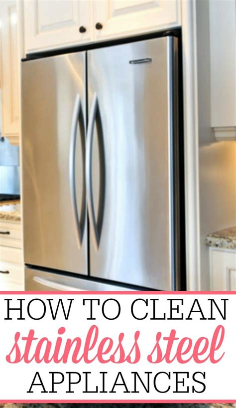 how do you clean a stainless steel kitchen sink how to clean stainless steel appliances frugally 9866