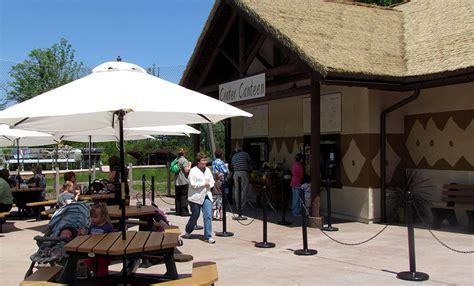 sundays zoo canteen crater seneca park landing cafe saturdays admission open senecaparkzoo