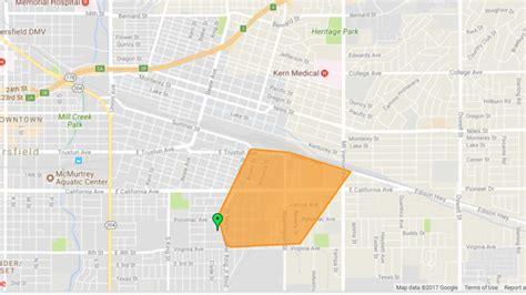 power outage affected  customers thursday morning