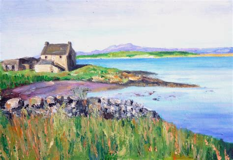 selection  scottish landscape oil paintings artyou
