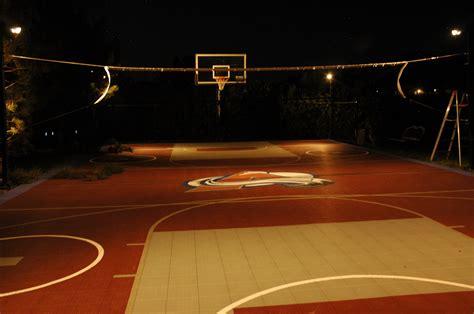 innovative lighting for backyard sport game courts