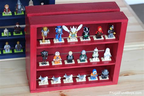 Diy Wooden Crate Lego Minifigure Display  Frugal Fun For