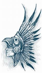 The gallery for --> Aztec Eagle Warrior Headdress