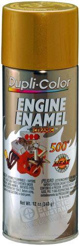 gold engine paint