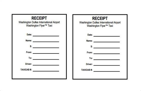 25 receipt template ideas on