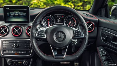 The site owner hides the web page description. 2015 Mercedes-Benz CLA 45 AMG Shooting Brake (UK-Spec) - Interior | HD Wallpaper #60