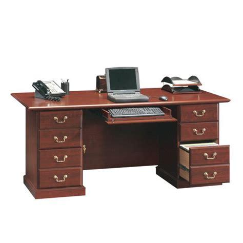 sauder heritage hill executive desk sauder heritage hill 71 in executive desk 109843