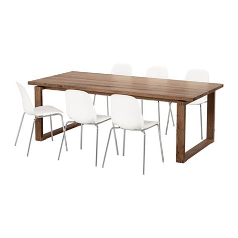 Ikea Dining Room Sets by M 214 Rbyl 197 Nga Leifarne Table And 6 Chairs Ikea