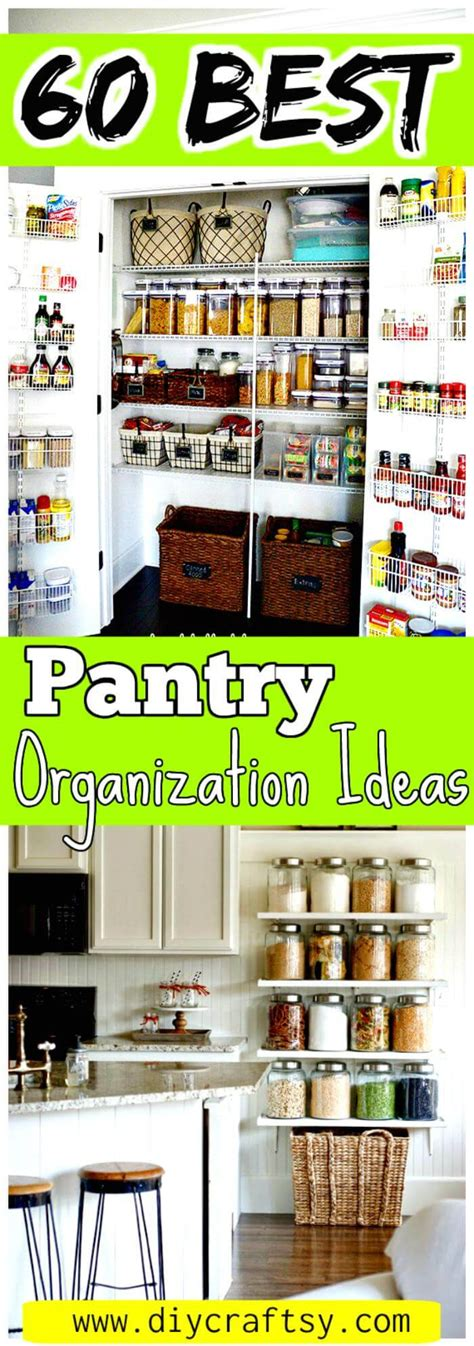 kitchen organization ideas diy 60 best pantry organization ideas diy diy crafts 5437
