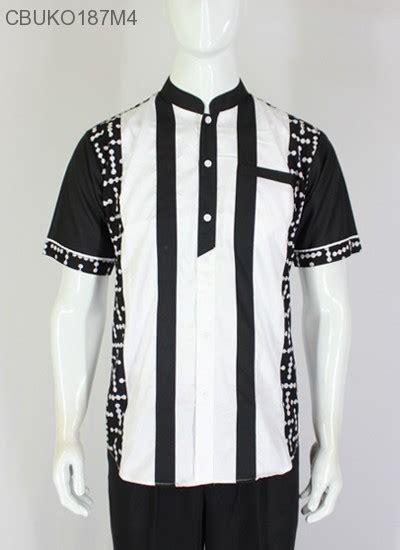 koko batik ayodia hitam putih koko batik murah batikunik