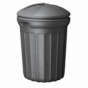United Solutions 26 Gal. Plastic Outdoor Trash Can-TB8030 ...