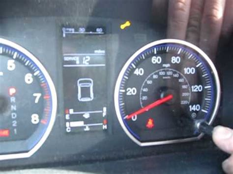2007 honda accord check engine light 2007 honda crv resetting the oil life youtube