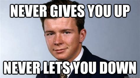 Rick Astley Never Gonna Give You Up Meme - rickroll wikipedia autos post