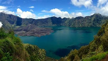 Indonesia 4k Volcano Rinjani Lombok Ultra Wallpapers