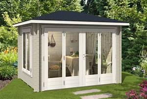 Gartenhaus Mit Aufbauservice : gartenhaus summertime 40 mit gro er faltt r ~ Whattoseeinmadrid.com Haus und Dekorationen