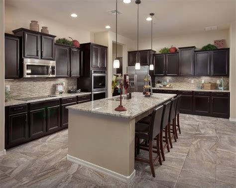 dark kitchen cabinets home design ideas pictures remodel