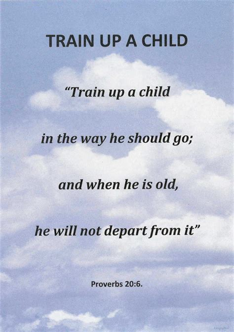 Bible Verse Train Up Your Child