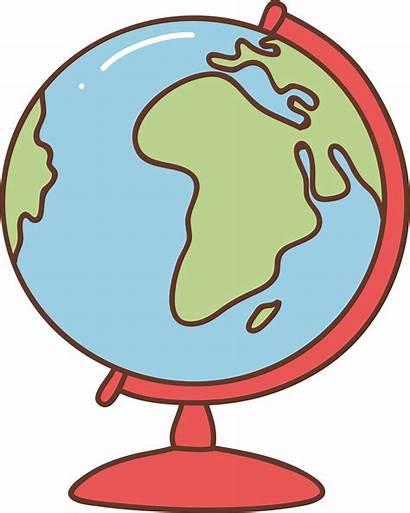 Geography Clip Globe Clipart Cartoon Quiz Trivia