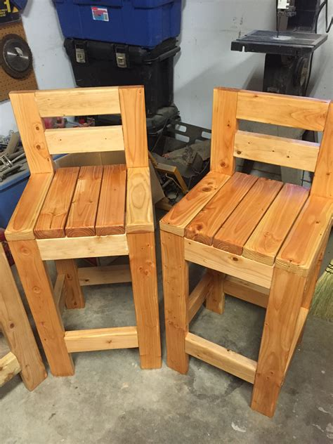 barstools  built  stools    bucks  piece