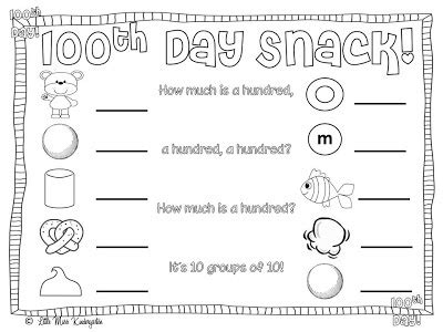 100th day of school freebies 100 | d4e8e0d5b08038414425ba7e534d1451