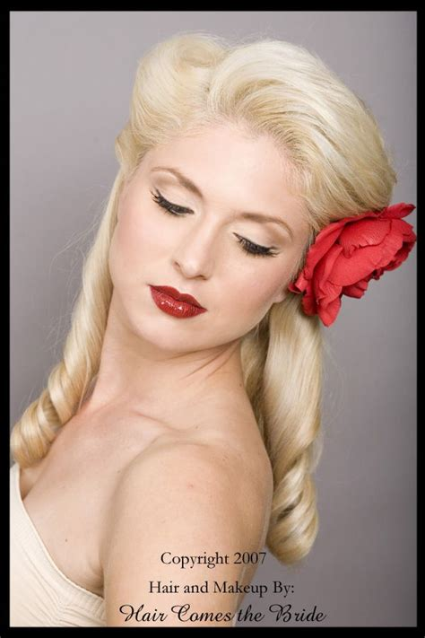 25 ideas about 1950s updo on 1950s hair